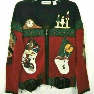 Ugly Christmas Sweater S Sharon Young Collectable